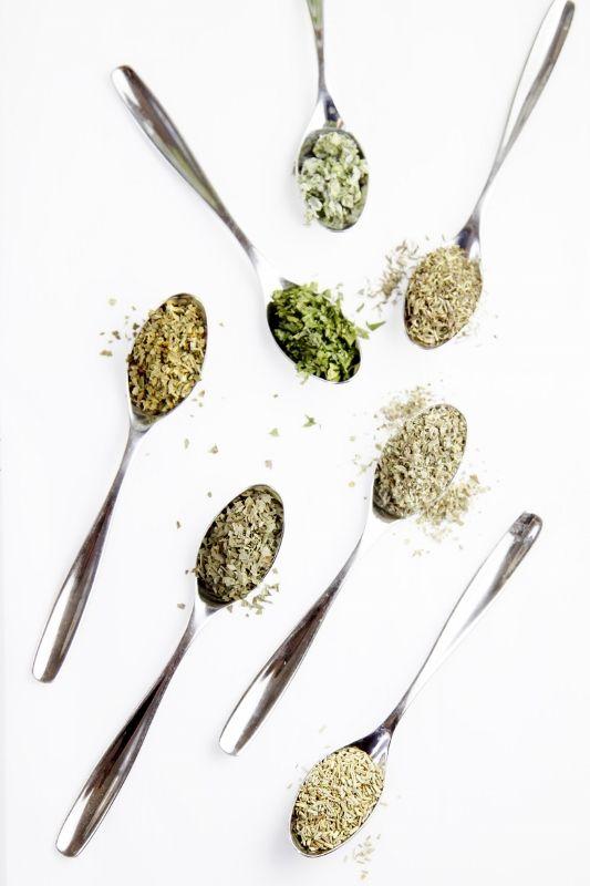 How To Make Homemade Italian Seasoning Mix >> equal parts basil, Italian parsley, marjoram, oregano, rosemary, sage, thyme