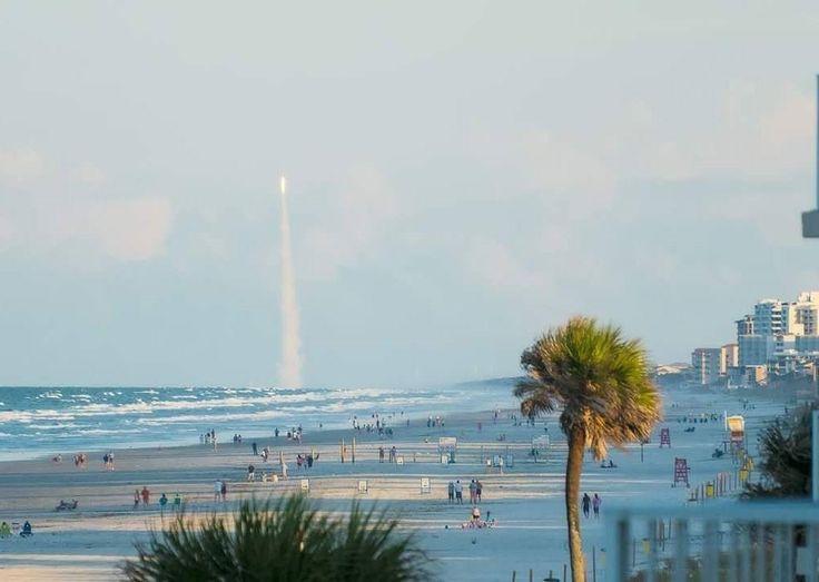 tag a friend that needs to see this. repost: @annfluggefotos . . Original Caption: Atlas V Rocket Launch as seen from my balcony on New Smyrna Beach FL . . #VolusiaPixel #Volusia #VolusiaCounty #NewSmyrna #Florida #PortOrange #OrangeCity #OrmondBeach #Delnd #Debary #Ocala #OakHill #Edgewater #PonceInlet #DaytonaBeach #NSB #HollyHill #LakeHelen #Pierson