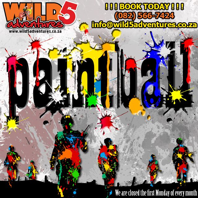 #Didyouknow @wild5adventures offers #actionpacked #paintball games ranging from #capturetheflag to #hostagerescue