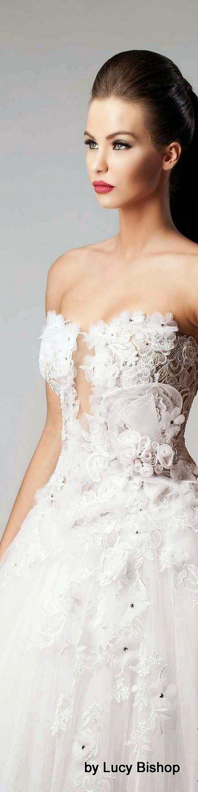 Tendance Robe De Mariée 2017/ 2018 : Hanna Toumajean Fall Winter 2014/15 www.wedding-dress......
