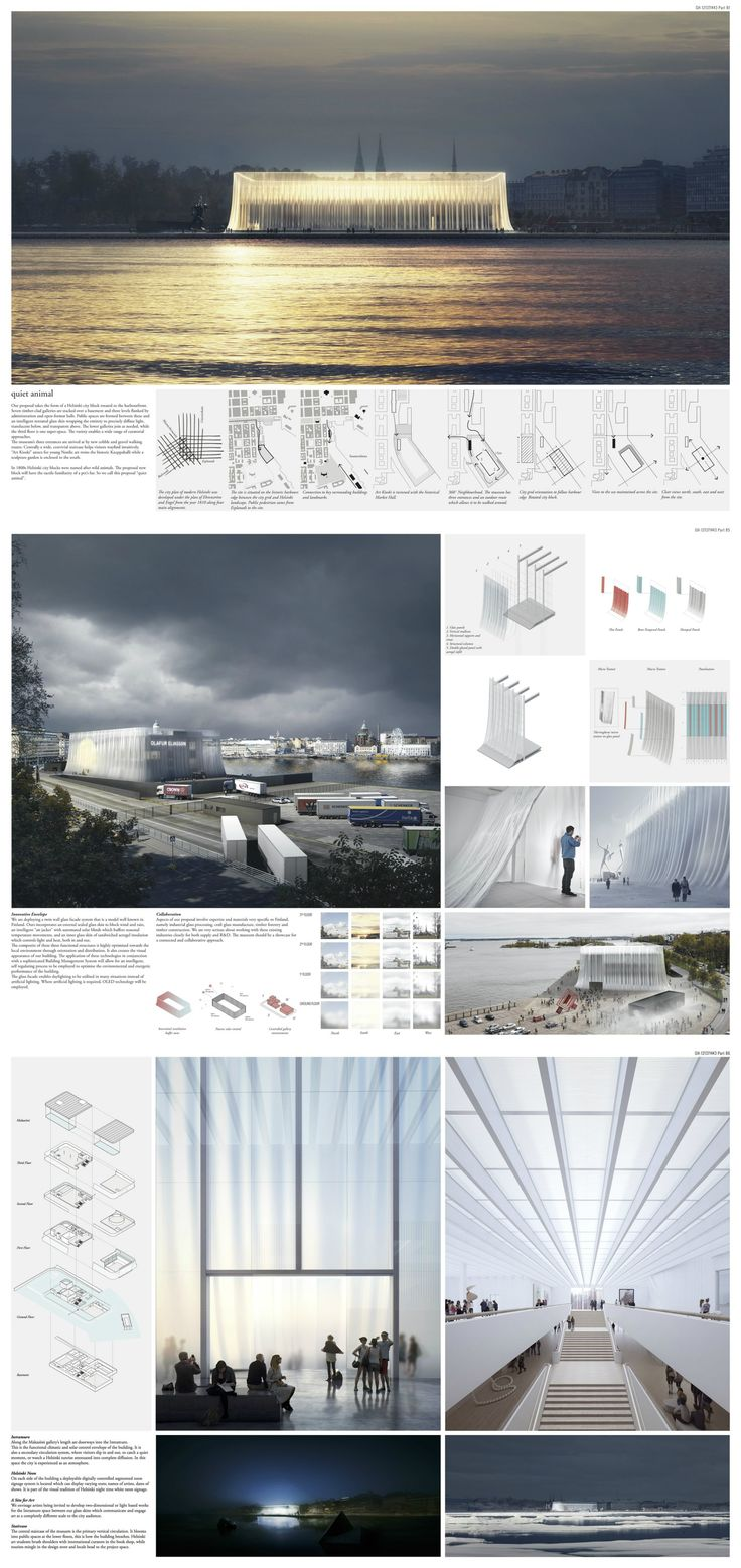 6 Final Designs Unveiled for Guggenheim Helsinki