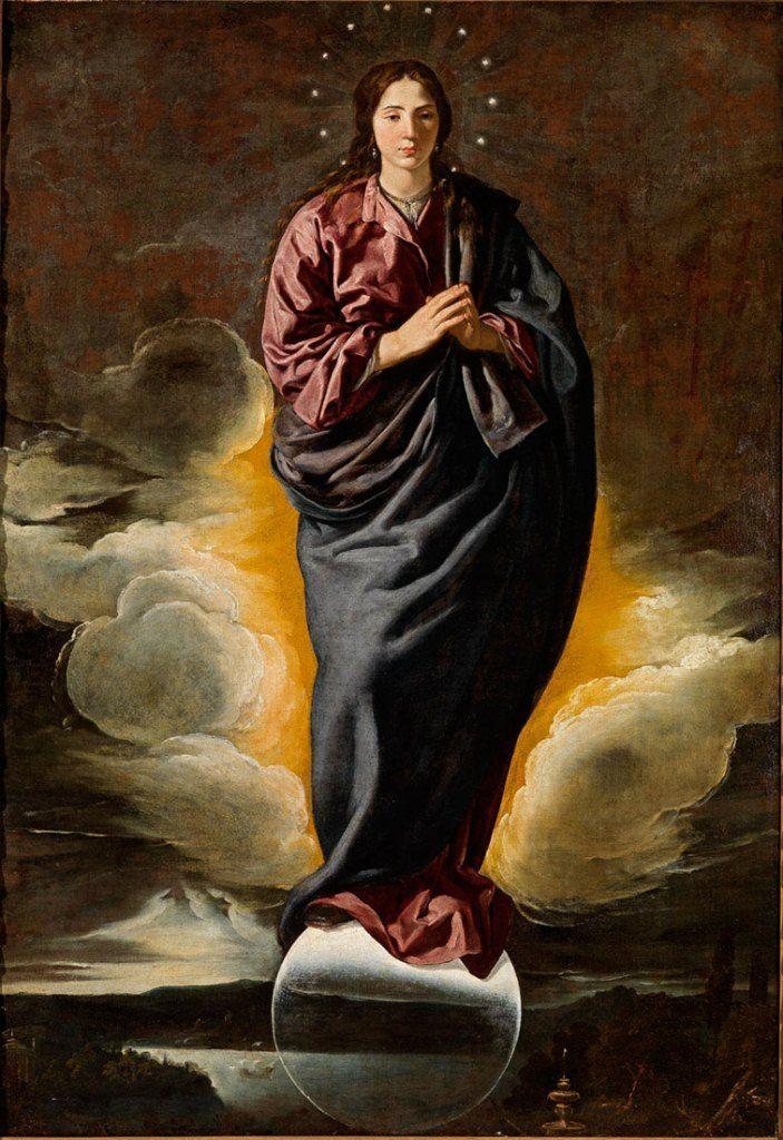 Inmaculada Concepción (h. 1618), Diego Velázquez. Fundación Focus-Abengoa, Sevilla.