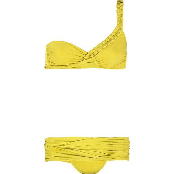 We love braids.   Teja one-shoulder bikini La PerlaBody, Bathing Suits, One Should Bikinis, La Perla, Shoulder Bikinis, One Shoulder, As, Bath Suits, Bikinis La