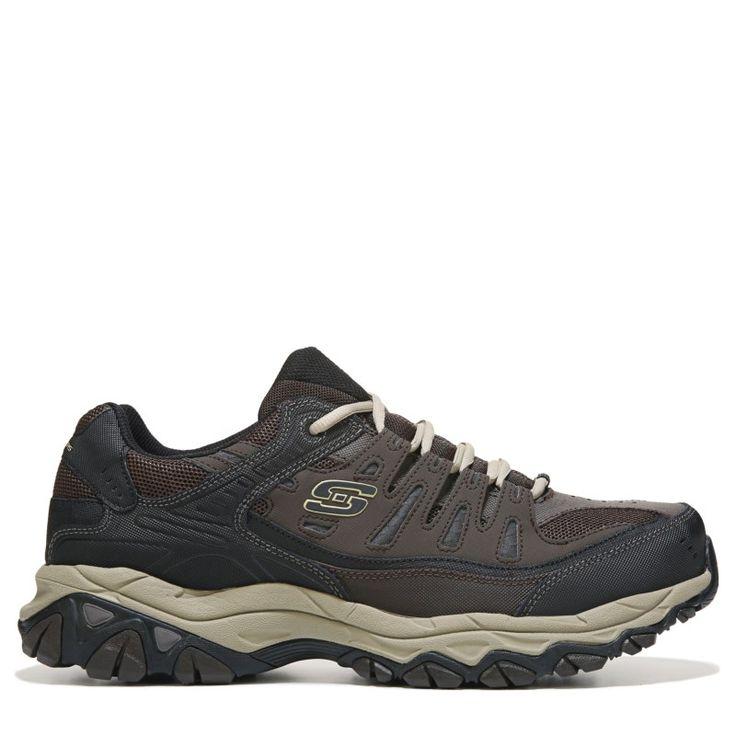 Skechers Men's Energy After Burn M-Fit Memory Foam Sneakers (Brown/Taupe) - 10.5 D