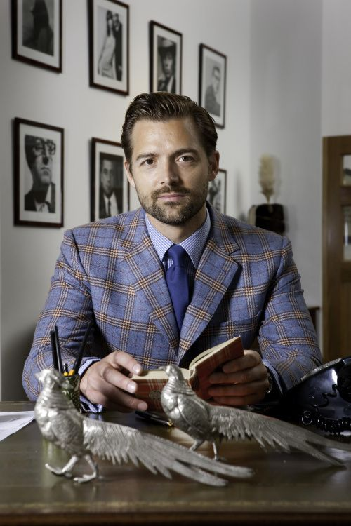 Patrick Grant, the Savant of Savile Row, the guy changing how the world should dress