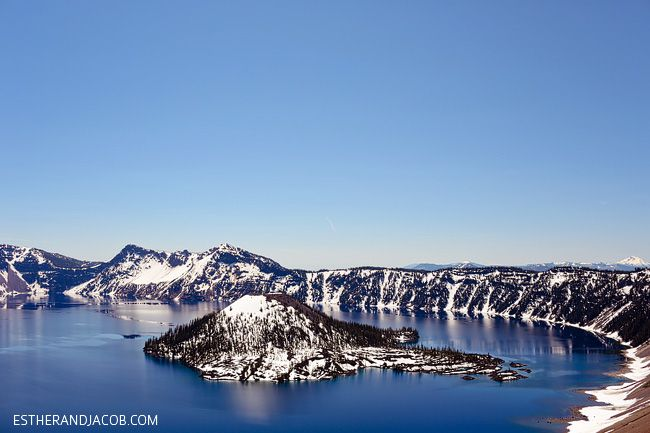 wizard island in crater lake national park panorama. things to do at crater lake or. crater national park. what to do at crater lake oregon.