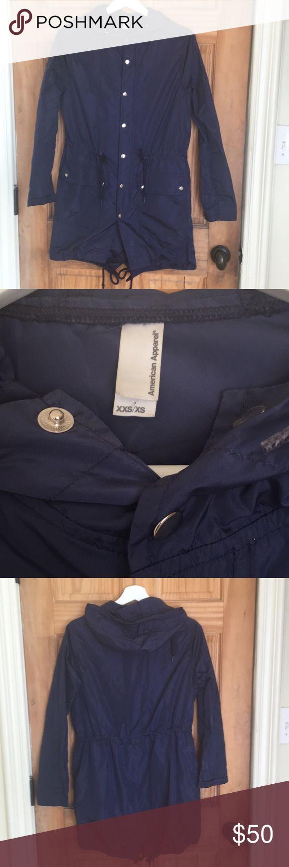 American apparel packable rain parka American apparel packable rain parka unisex size xxs/xs American Apparel Jackets & Coats