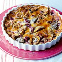 Clafouti figue et framboise 3PP