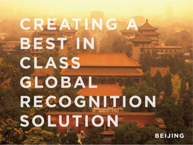 TITLES - interesantes separadores- buen uso imagen 2D  - Creating a Best-In-Class Global Recognition Solution by O.C. Tanner via slideshare