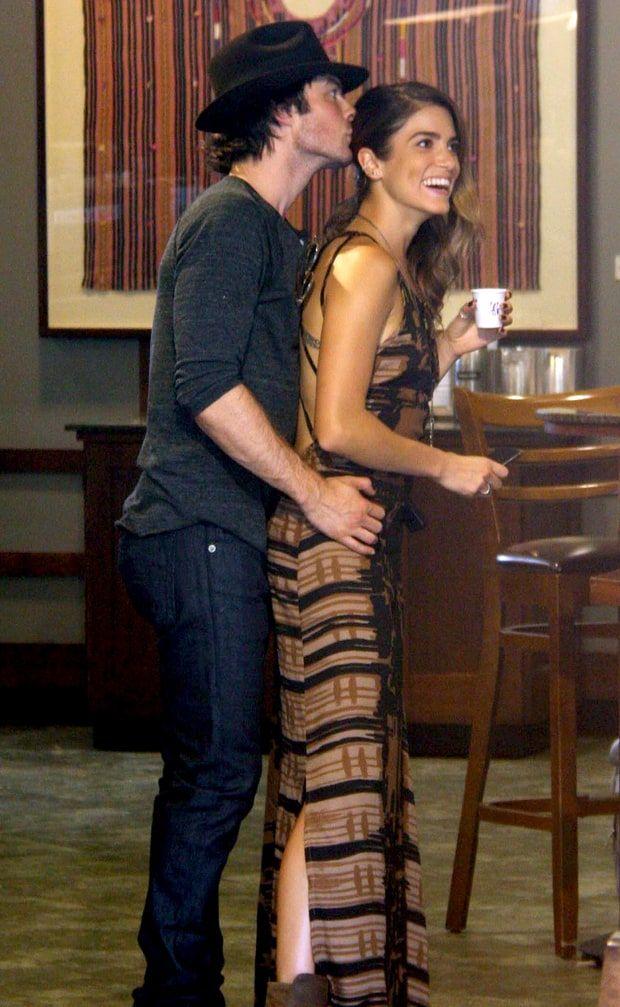 Nikki Reed and Ian Somerhalder