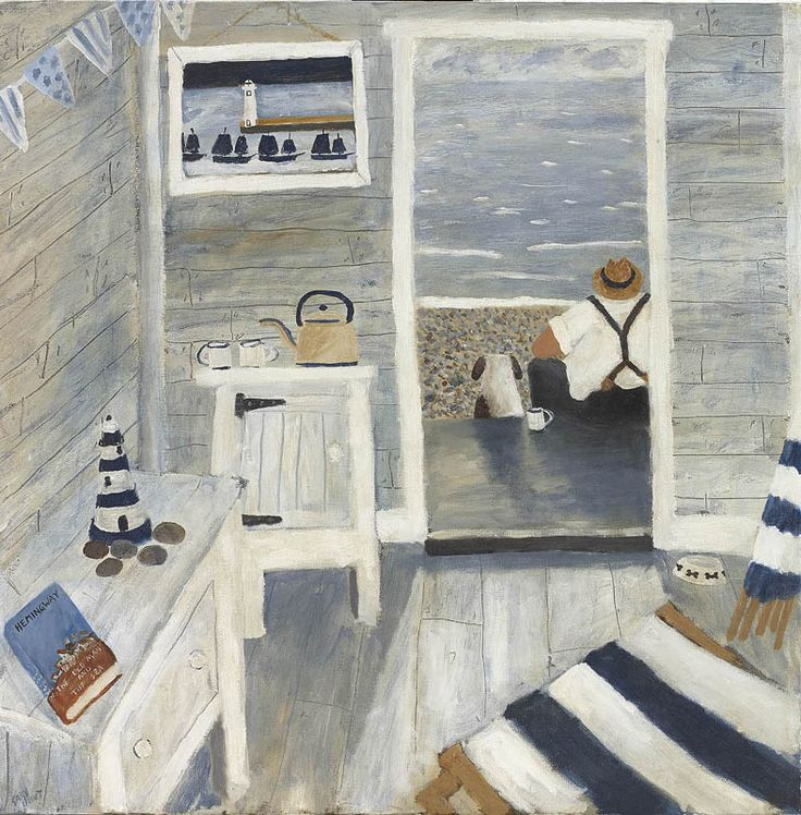 Gary Bunt. The Old Man and the Sea - Whilst looking out sea An old man sat drinking tea A nice strong brew And a beautiful view That was absolutely free