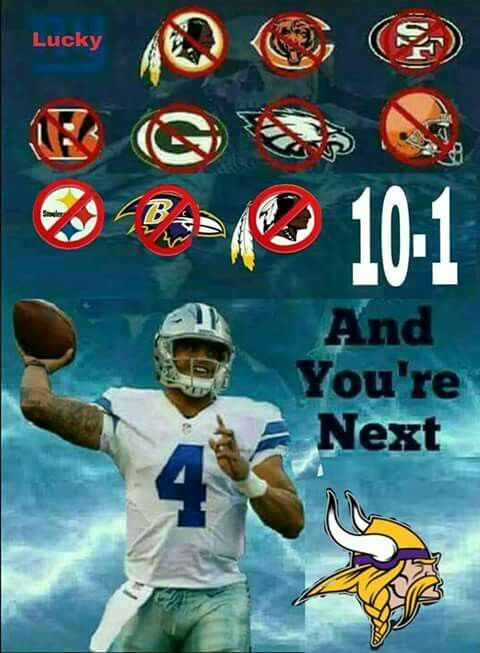 BECAUSE I SAID SO!!!!!!  #GoCowboys