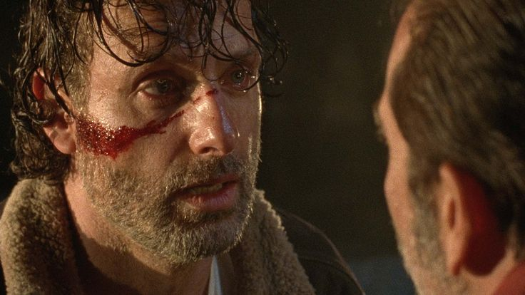 """I'm going to kill you""-Rick . Season 7 Sneak Peak. Don't miss the Season 7 Premiere of The Walking Dead, Sunday, October 23 at 9/8c. #rick rickgrimes #thewalkingdead #twd"