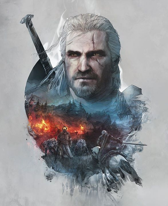 The Witcher - Limited Edition Steelbook Covers