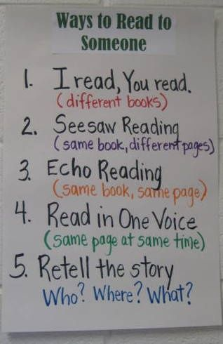 Ways to Read to Someone
