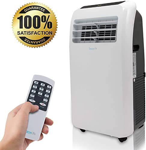 New Serenelife 10 000 Btu Portable Air Conditioner 9 000 Btu Heater 4 In 1 Ac Unit Built In Dehumidifier Fan Modes Remote Control Complete Window Exhaust In 2020 Portable Air Conditioner Air Conditioner Dehumidifiers