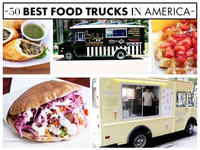 The 50 Best Food Trucks In America | The Vivant..woohoo #32 Only Burger, Durham NC