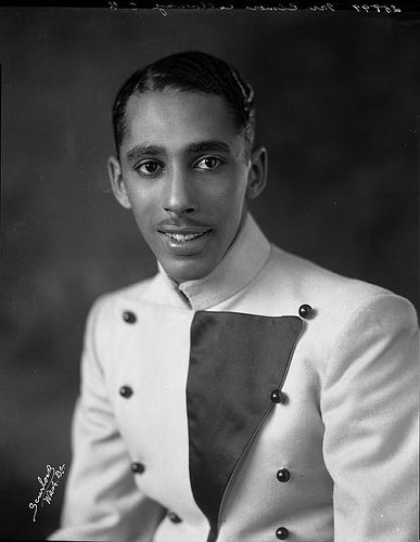 "U.S. Elmer ""Cab"" Calloway, bandleader at frontman at Harlem's famed Cotton Club, NYC, in the 1930s, where African-Americans were the stars but not allowed in the audience."