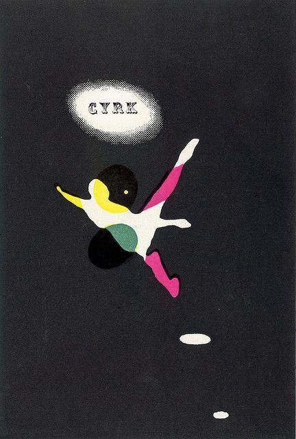 1963 - Circus // Roman Cieslewicz