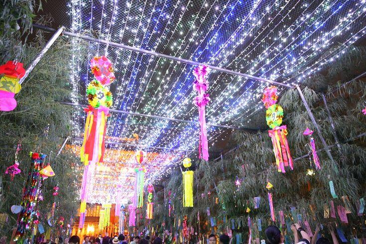 Tanabata Evening at Shitennoji Temple