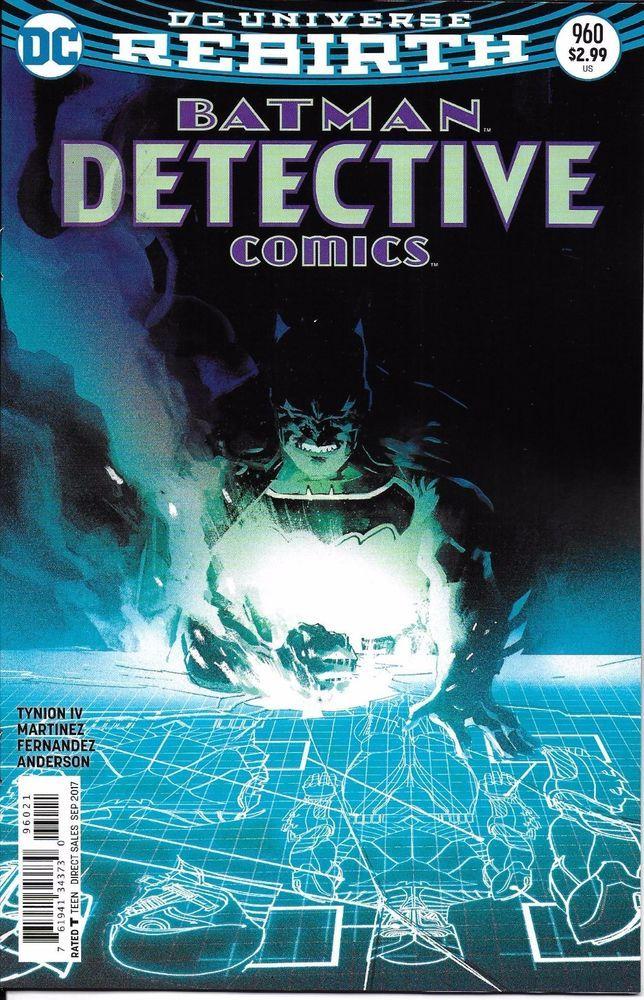 DC Universe Rebirth Batman Detective Comics issue 960 Limited variant