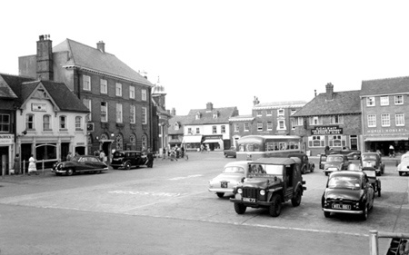 The Market Place C1958 Petersfield Petersfield Hampshire England Places