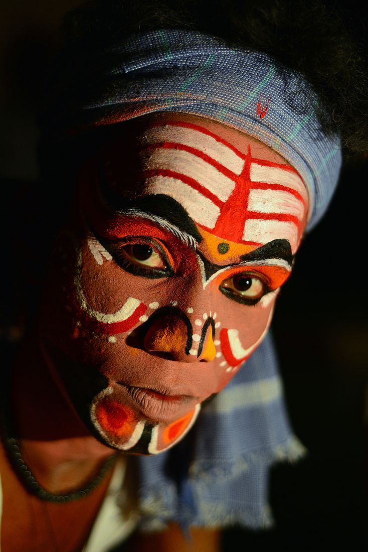 From India, Vibrant makeover by Ram on Aminus3 at the Kattaikuttu Festival