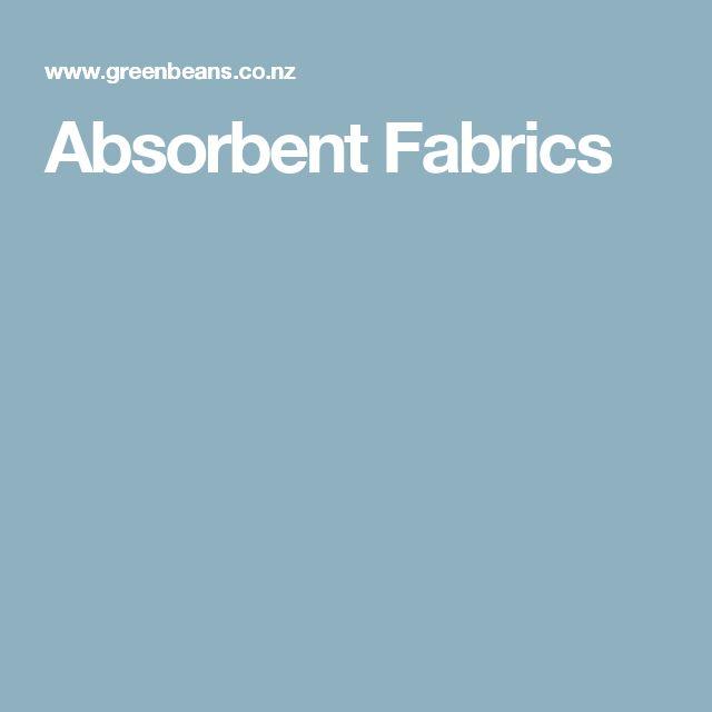 Absorbent Fabrics