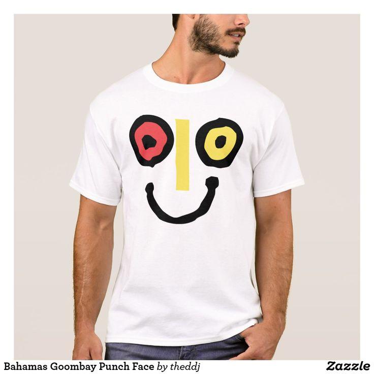 Bahamas Goombay Punch Face T-Shirt