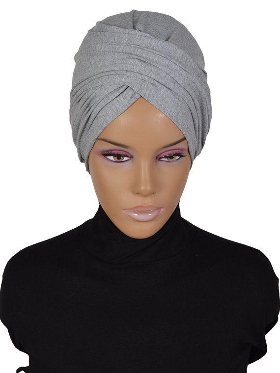 Ready To Wear Hijab Code HT-0298 New Season Cotton by HAZIRTURBAN