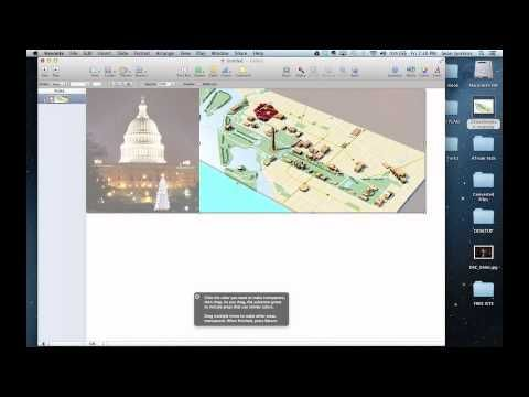 Creating Your Own Panoramic Pages for iBooks Author (using Keynote) - YouTube tutorial from Sean Junkins