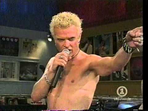 Billy Idol - Rebel Yell Live Acoustic On VH1 Hangin With Special 5/15/05 (Pt. 1) - YouTube