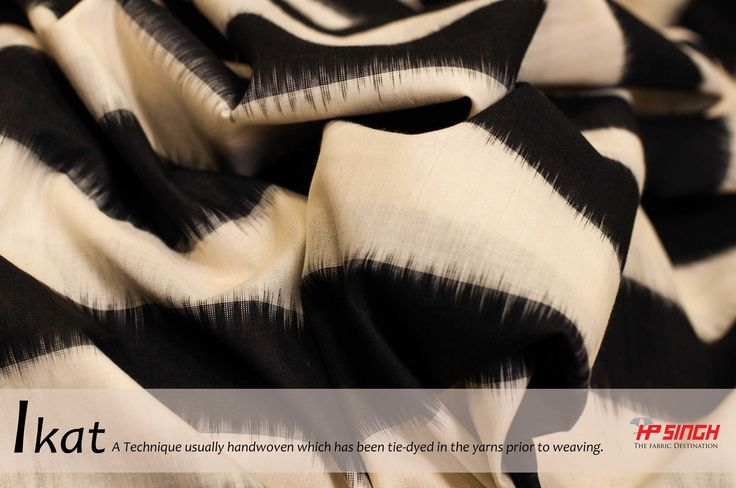 We are back with A - Z TEXTILE terminology... #textile #ikat #techique #tiedye #woven #texrile