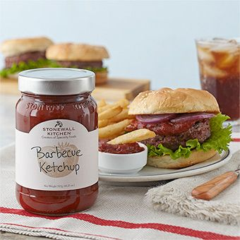 Barbecue Ketchup - delicious, smoky grill flavor made with savory fire-roasted tomatoes, brown sugar, molasses and spices.