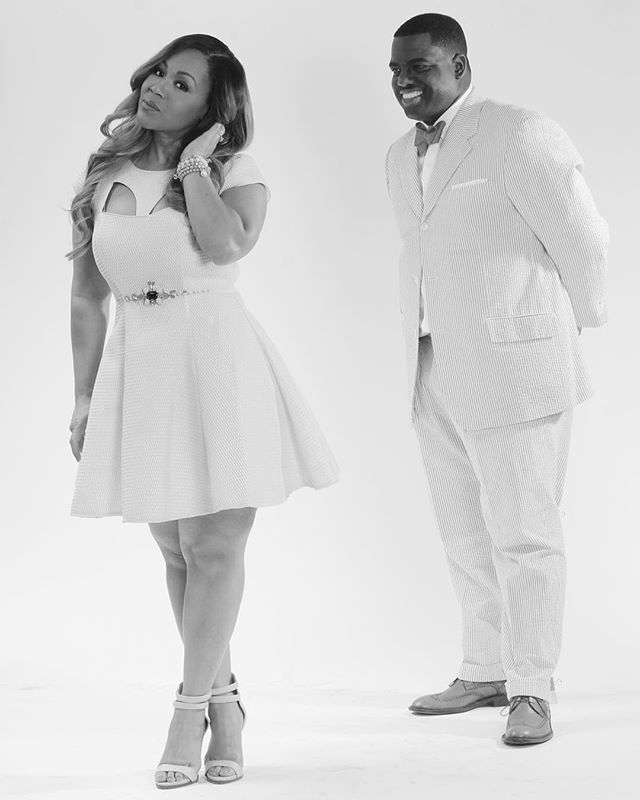 Erica & Warryn Campbell Celebrate 15 Years Of Marriage [PHOTOS]   Get Up! Mornings With Erica Campbell