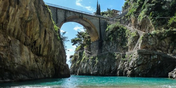 Beach of Furore on the Amalfi Coast  #AmalfiCoast #Amalfi #Italy #Beach #Furore #Positano