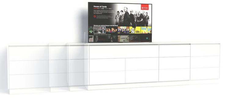 Ontwerp je eigen TV lift meubel
