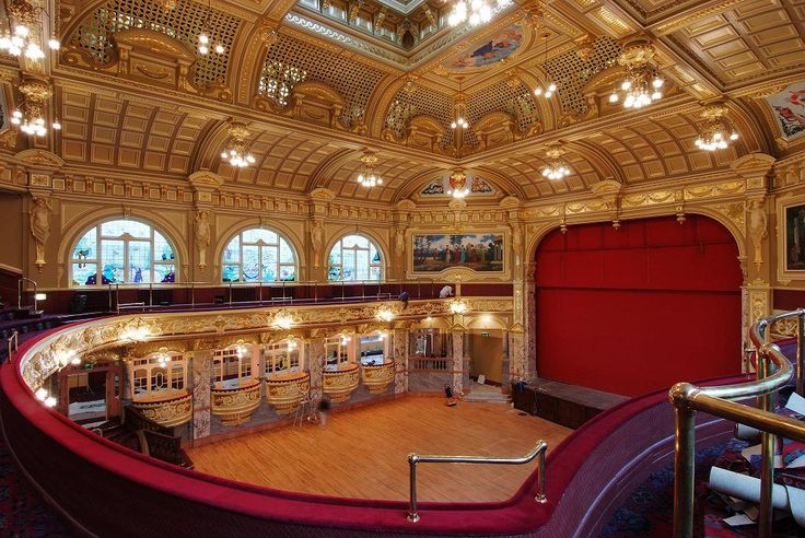 Harrogate Royal Hall We've seen many a show here.  It's absolutely beautiful!