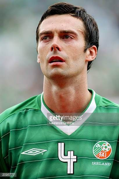 Portrait of Gary Breen of the Republic of Ireland taken before the UEFA European Championships 2004 Group 10 Qualifying match between Republic of...