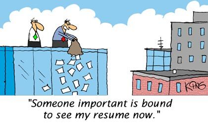 Image detail for -Funny Cartoons - My Resume