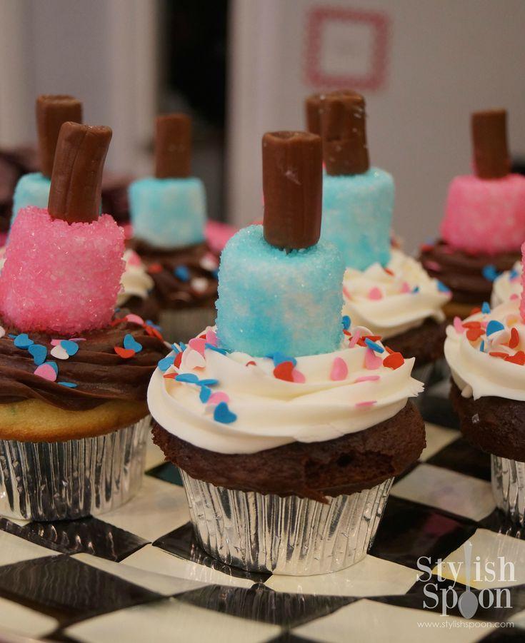 nail polish cake ideas