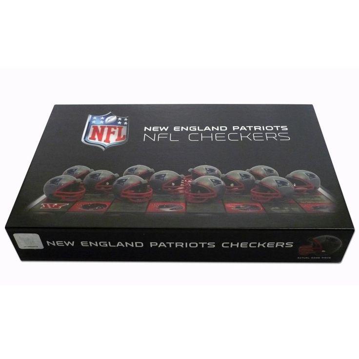 Rico New England Patriots Checker Set