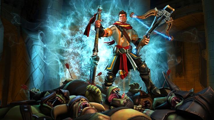 Orcs Must Die! key art