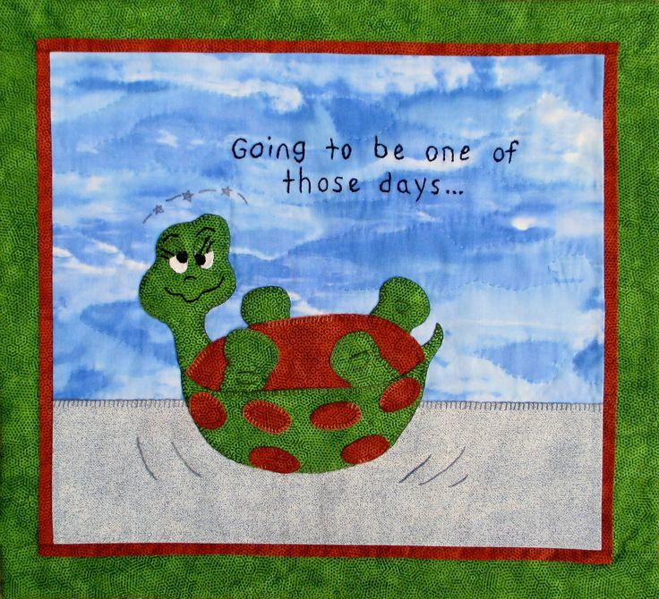 Turtle Trouble Pattern