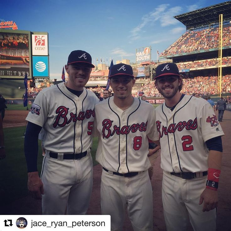 #Repost @jace_ryan_peterson ・・・ No better way to say goodbye to turner field.. Sold out crowd and a W! Thank you fans ,friends, and family for support and showing up during this season . Excited for the future. #ATL #squad