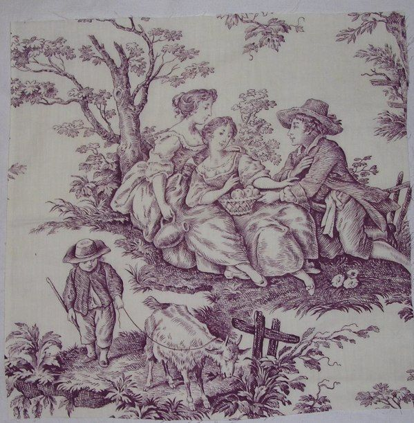 Decorating Ideas Toile Fabric: 1000+ Ideas About Purple Fabric On Pinterest