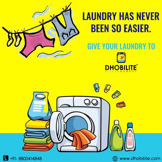 Take a load off! ... Dhobilite is your premiere wash and fold service provider, offering FREE pick up and delivery! ... Whether you just don't have the time, ability, or desire to do your own laundry or you're a business that doesn't have the.  To know attractive laundry offer - www.dhobilite.com