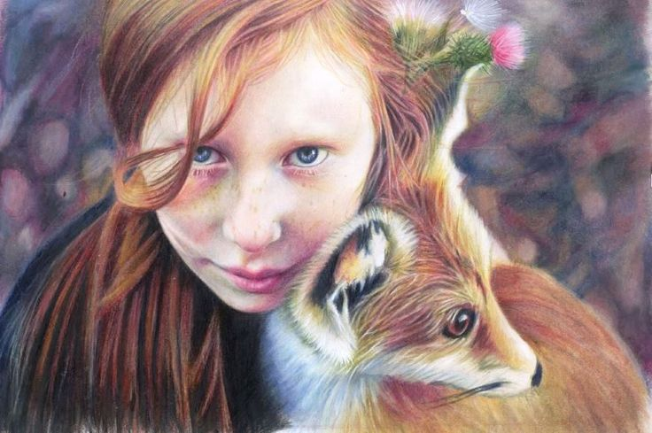 Colored Pencil Artwork by Brian Scott on Strathmore 400 Series Colored Pencil Paper
