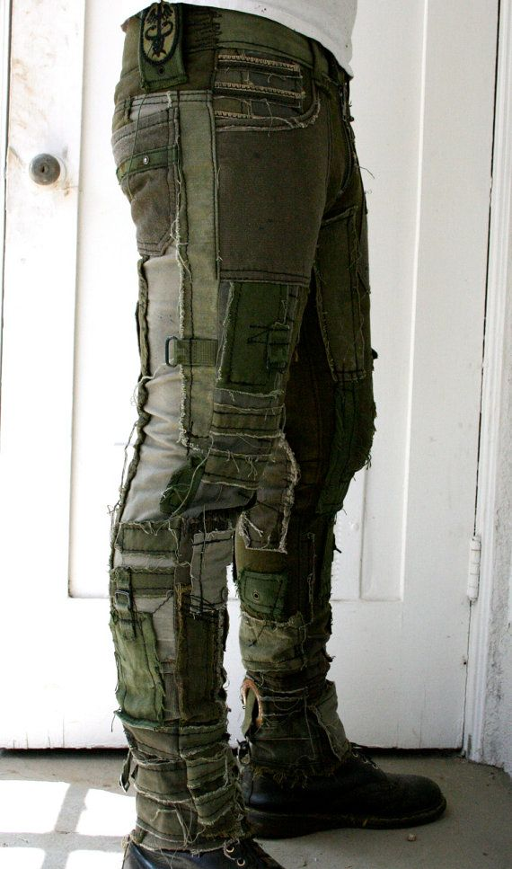 Army Pants by BoneBlack on Etsy