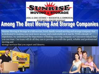 Among The Best Moving And Storage Companies  We can be there for you right from the start. With the packing services and supplies that we offer, downsizing and organizing will become less stress-inducing and more simple. We can support you with deciding what will fit best in your new home and help you to get rid of the items you no longer need.Visit Us For More Details.http://www.sunrisemovingandstorage.ca/